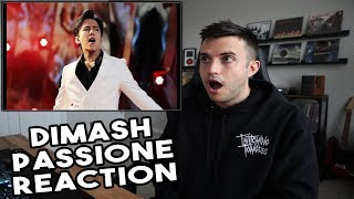 DIMASH - PASSIONE Reaction - I Have Missed Him