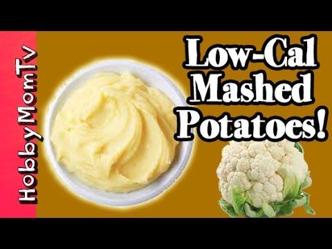 Low-Calorie Mashed Potatoes Recipe | Mocktatoes Cauliflower by HobbyMomTV