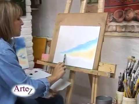 Técnica para pintura al óleo