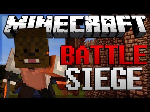 CLUTCH DISCOVERY Minecraft Battle Siege Part 1 w JeromeASF Friends