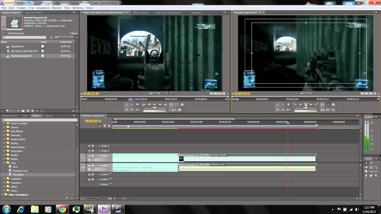 how to delete sound on premiere pro