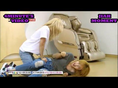 jiyoon hyuna (JIAH) moment @4m video