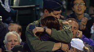 Rockies fan is surprised with return of military hero
