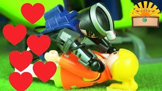 ABSTURZ DATE! PHANTOM + KRANKENSCHWESTER? Playmobil Kinder Film deutsch