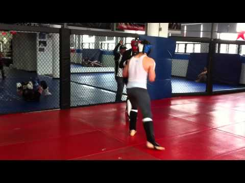 Rory Macdonald(170) and Mike Ricci(155) MMA sparring Image 1