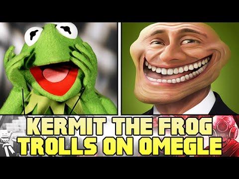 Kermit The Frog Trolls On Omegle! - omegle Trolling video