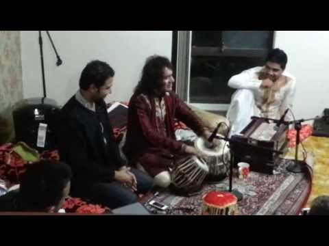 Legendary Ustad Tari Khan In A Private Mehfil - Perth Ispa video