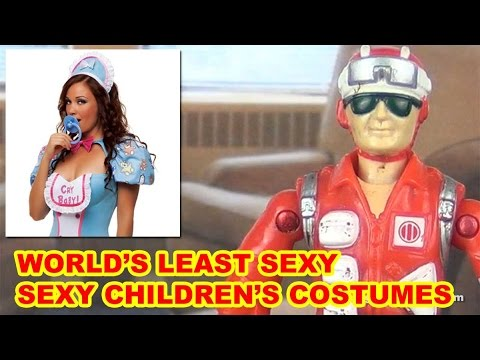 Worst Sexy Children's Halloween Costumes - Action Figure Therapy video