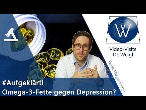 Helfen Omega 3 Fettsäuren & gesunde Fette bei schlechter Stimmung, Depression? Wirkung & Studien