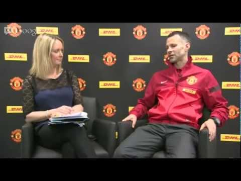 DHL Hangout with Ryan Giggs
