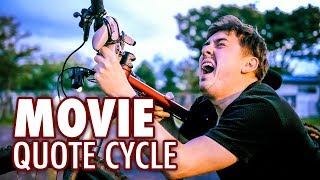 Cycling Japan Speaking Only in Movie Quotes