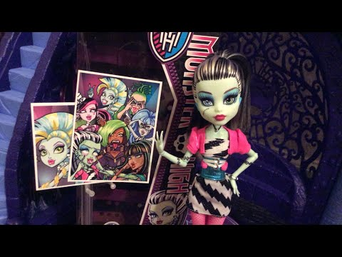 Monster High Dawn of The Dance Frankie Stein 2014 reproduction doll review! | throwback review