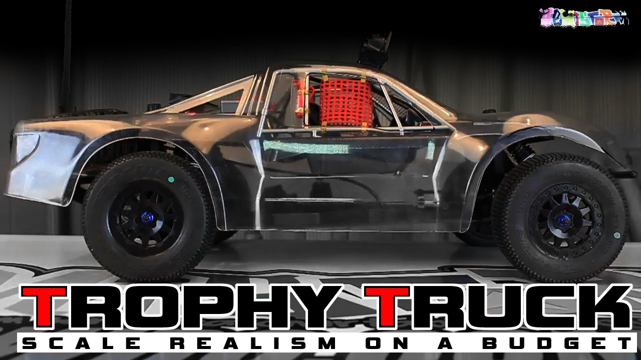 Budget Trophy Truck Build rc Trophy Truck on a Budget