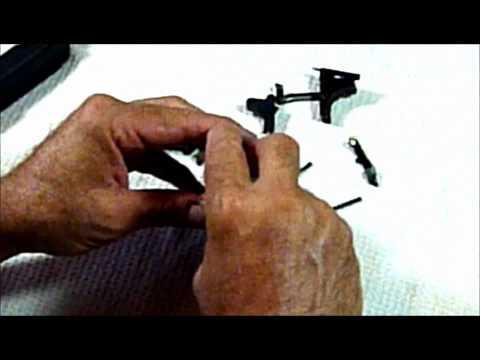 Custom glock 27 gen. 3 grip frame reduction pt. 1