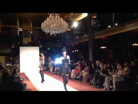 Sue Wong Fashion Show 4