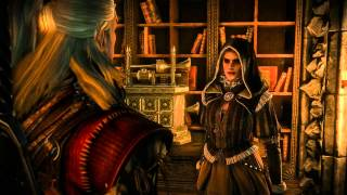 Cynthia: Geralt is a Rider of Wild Hunt (The Witcher 2) Full HD