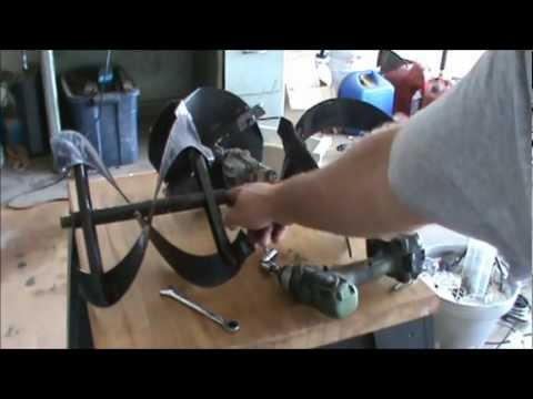Ariens snowblower st504 crankcase repair part 2