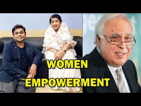 A R Rahman, Lata Mangeshkar and Kapil Sibal's album on Women Empowerment! | Bollywood News