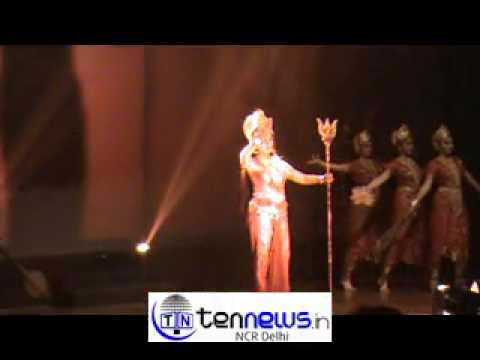 Hemamalini presented Durga and Parvati dance in Sun Foundation...