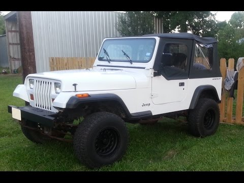 1993 Jeep Wrangler YJ Not Blowing Hot Air  How to Flush Heater Core With a Garden Hose