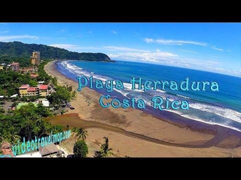 Playa Herradura - The Marriott Los Sueños Aerial Video