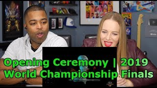 Opening Ceremony Presented by Mastercard | 2019 World Championship Finals  (Jane and JV REACTION 🔥)