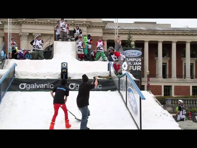 Ford CRJT 2011 Event Highlights - OSU - Snowboard