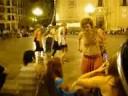 Perroflautas 01 - Pza de la Virgen (Valencia) 26-07-2008
