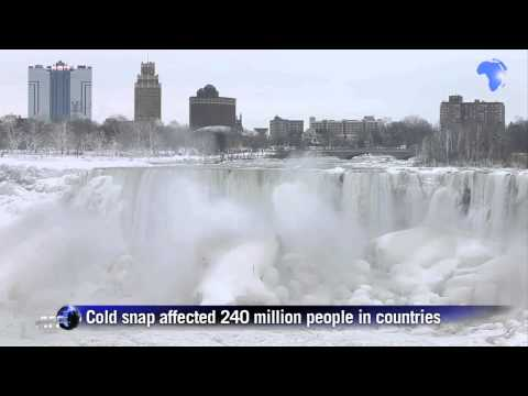 Niagara Falls freezes over due to polar vortex