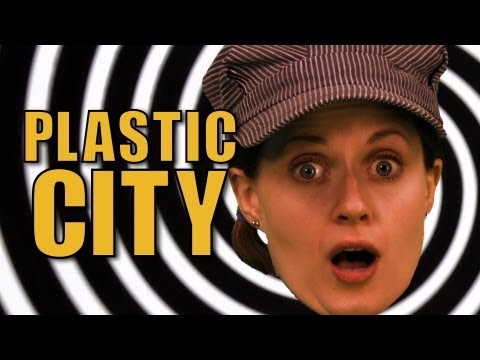 People Of the Plastic City - Official Music Video - The Choo Choo Bob Show