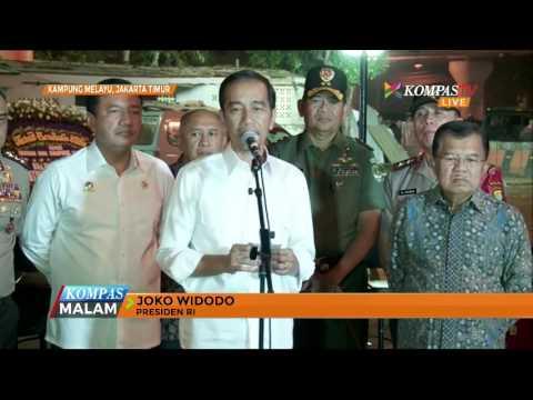 Jokowi: Selesaikan Segera UU Antiterorisme