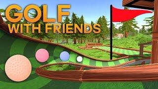 MaxINFINITE, PINK si PISICA MIAUMIAU baga bila in gaura | Golf with Friends