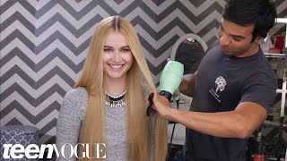 How to Get a Super Sleek Blowout Without the Frizz – 3 Steps to – Teen Vogue
