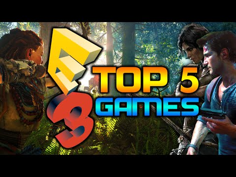 My Top 5 Games at E3 2015!