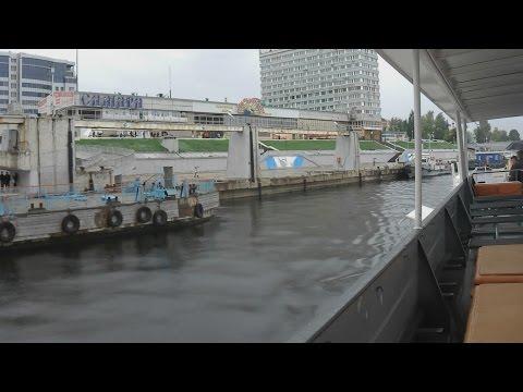 . Самара. Поездка по Волге на теплоходе Москва