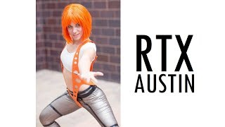 THIS IS COSPLAY RTX COMIC CON RWBY MUSIC VIDEO 2018 VLOG ROOSTER TEETH ANIME AUSTIN TEXAS