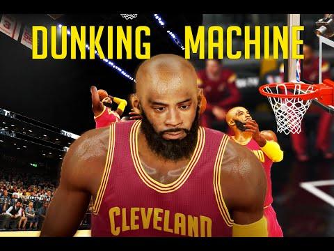 NBA 2K15 My Career | Drake Gives Away My Number | Dunking Machine