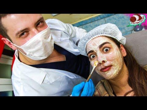 Чистка лица у косметолога до и после 😷 Топ 10 советов по уходу за кожей лица 🌴 POLI NA PALME