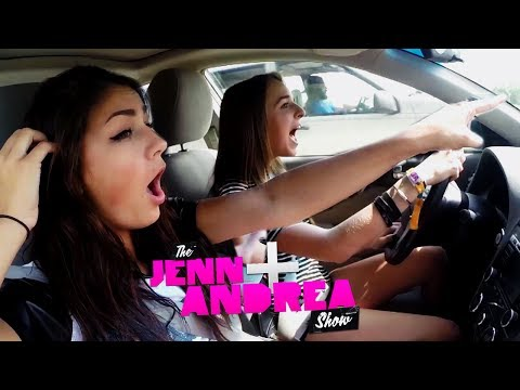 Jenn & Andrea ROAD TRIP TO MALIBU!! (AND SING HIGH SCHOOL MUSICAL)