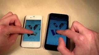 Huawei Y5c vs iPhone 4S (HD)