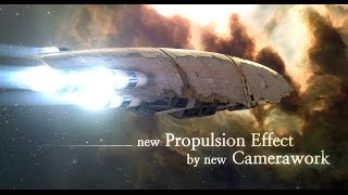 EVEOnline New Propulsion effect by new Camerawork