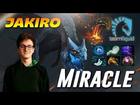 Miracle Jakiro MID Twin Head Dragon Dota 2