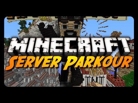 Minecraft: AntVenom Server Lobby Parkour!