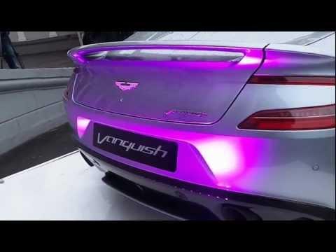 Aston Martin Vanquish V12  2013, обзор