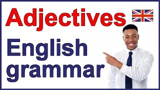 Adjectives in English grammar, Position of adjectives in a sentence