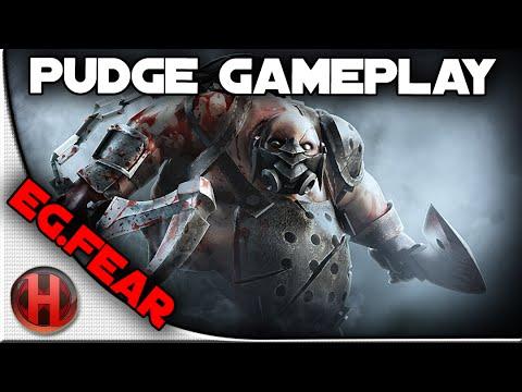 EG.Fear 6437 MMR Pudge Gameplay Dota 2