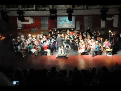 "Pine Grove Middle School's 7th Grade Christmas Band 2012 Concert - ""Santa Claus is Coming to Town"""