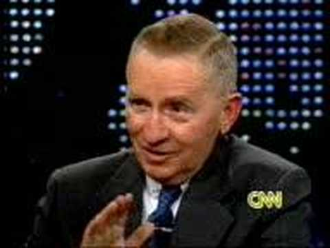 Larry King-Ross Perot's 1st Appearance Video