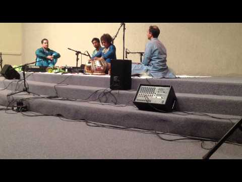 Amazing Tabla Ustad Tari Khan In Oklahoma June 29 2013 video