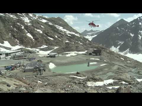 Wildspitzbahn Video-Bautagebuch Juni 2012 - Pitztaler Gletscher